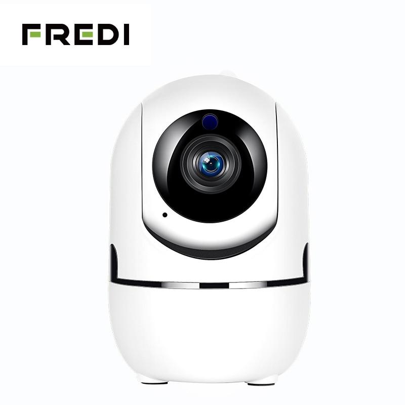 FREDI 1080P Auto Tracking IP Camera WiFi Baby Monitor Home Security IP Camera IR Night Vision Wireless Surveillance CCTV Camera