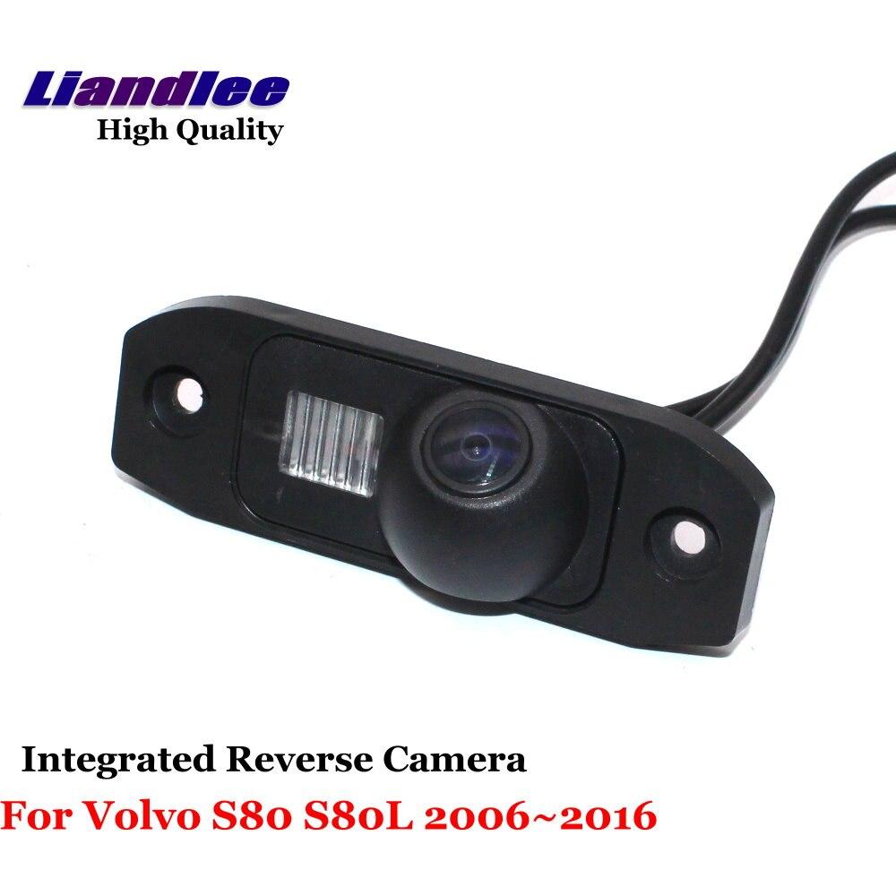 Liandlee Car Rearview D'inversione Della Macchina Fotografica Per Volvo S80 S80L 2006 ~ 2016 Backup Parcheggio Rear View Camera/Integrato Ad Alta qualità