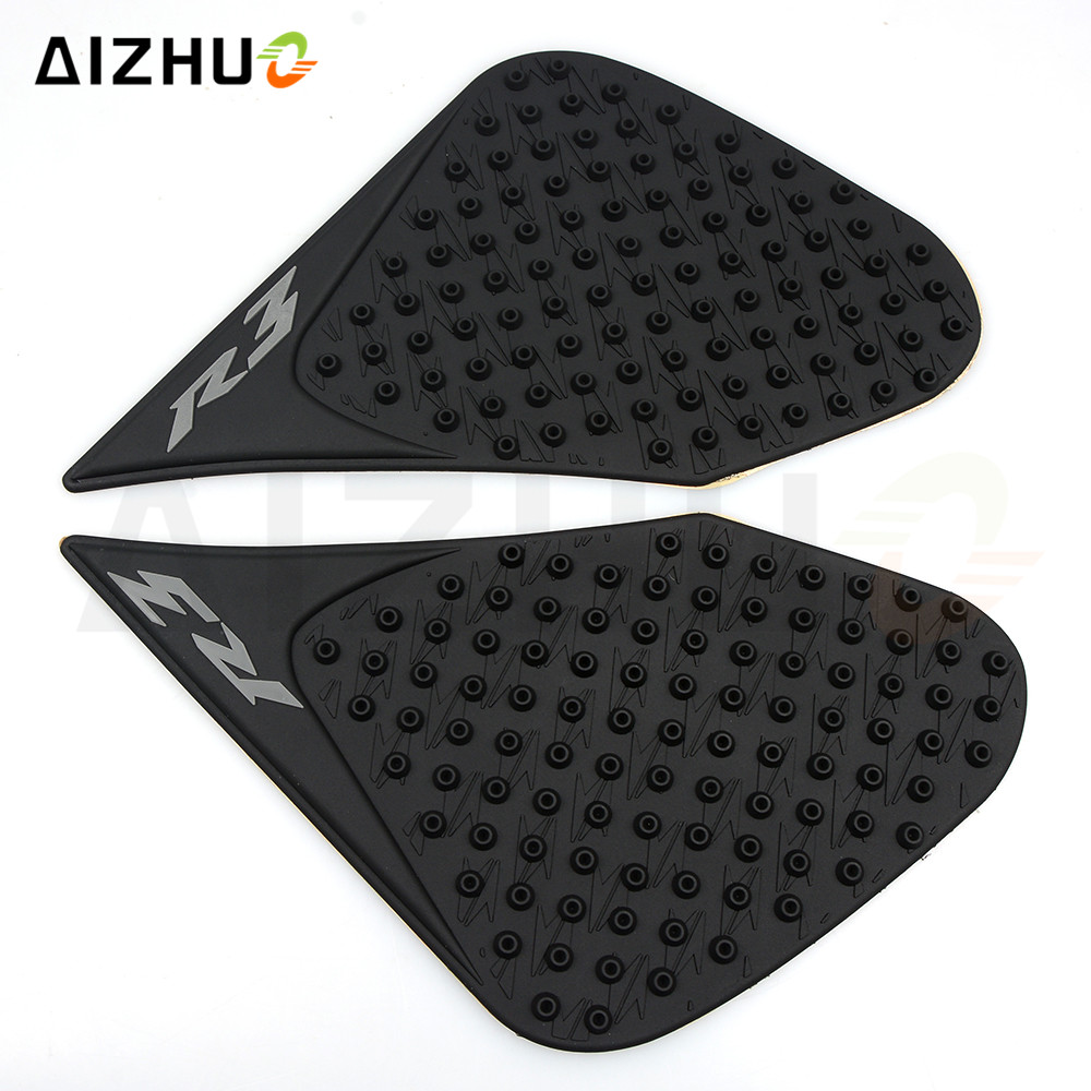 for Yamaha YZF yzf R3 r3 R25 2015 2016 AIZHUO motorcycle Accessories Rubber oil fuel gas tank Stickers Decorative anti slip pad