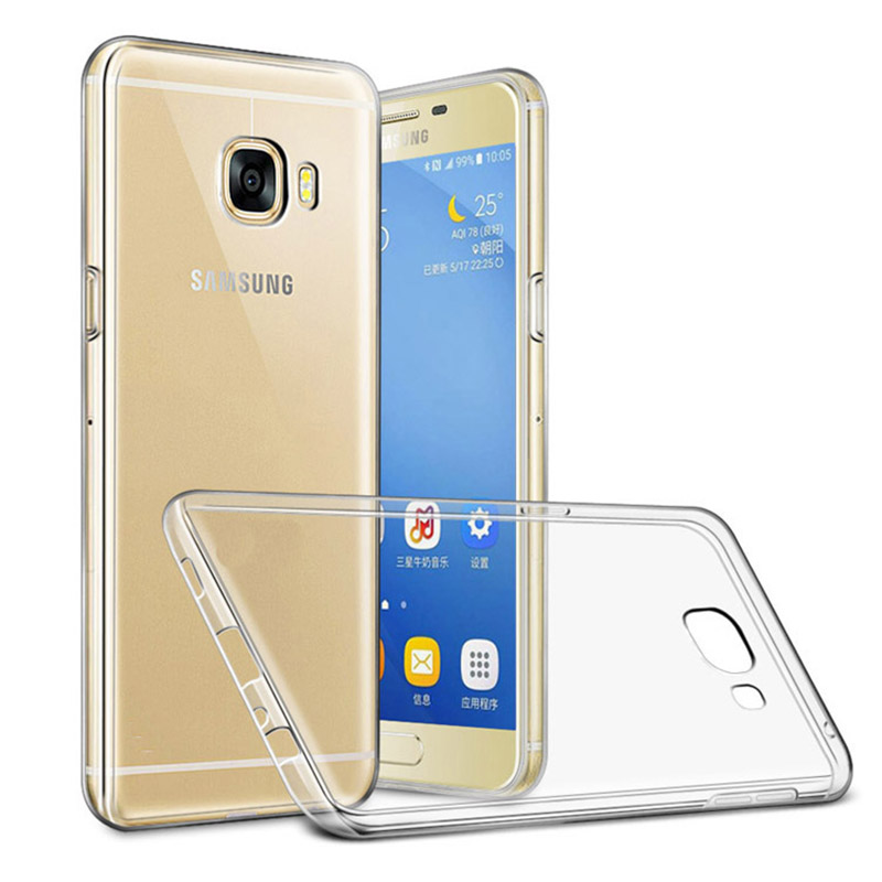 Mobile Phone TPU Case 2017 Premium Tempered Glass Screen Protector Film for Samsung Galaxy A5 2017 Full Coverage Protective Film