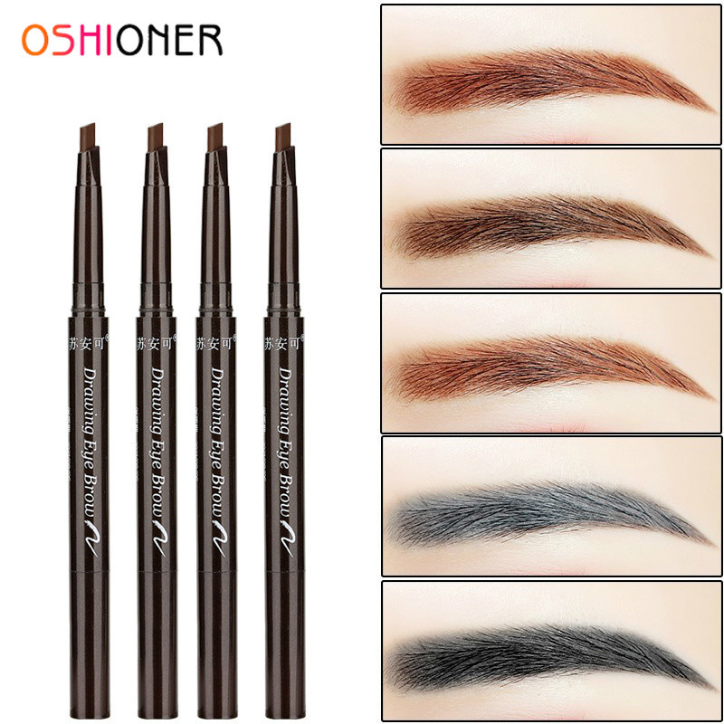 OSHIONER 1PC Long Lasting Paint Eyebrow Pencil