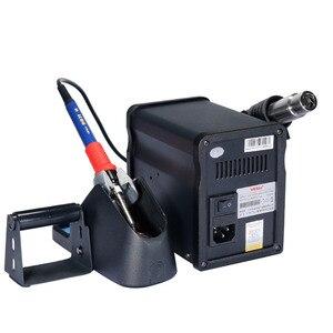 Image 4 - YIHUA 995D + สถานีบัดกรี60Wไฟฟ้าSolderingเหล็ก650W DIY Hot Air Gunเครื่องเชื่อมBGA SMD Repair rework Stationชุดเครื่องมือ