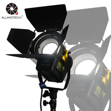 ALUMOTECH Daylight 20W LED Fresnel Lens Spot Continuous Lamp For Film Camera Video Studio Photography Light With 3200K Color Gel