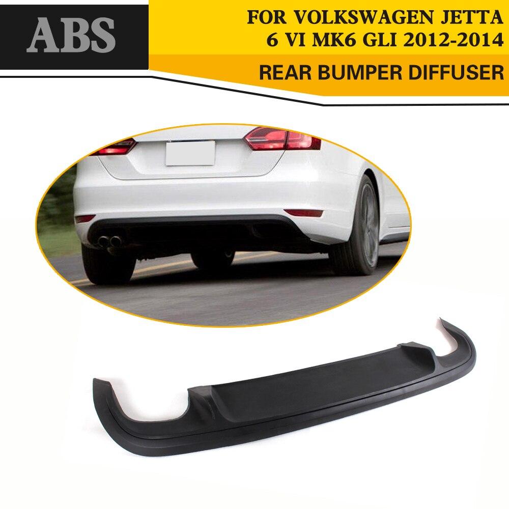Black ABS Rear Trunk Spoiler Lip Diffuser for Volkswagen VW Jetta GLI Sedan 4 Door 2013 2014 2015 Car Styling стоимость