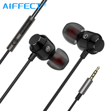 AIFFECT 3.5mm Wired Earphones A2 In-Ear Stereo Bass Music Earbuds With HiFi Headset For iPhone Xiaomi Samsung Mobile Phone MP3. smilyou cheapest earphone 3 5mm in ear wired ear phones with stereo bass earbuds for mobile phone mp3 mp4 music players pc