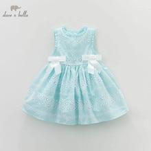 DB3461 dave bella  summer baby cute dress  baby girl fairy  dress children's boutique clothes  girl  lolita dress summer dress