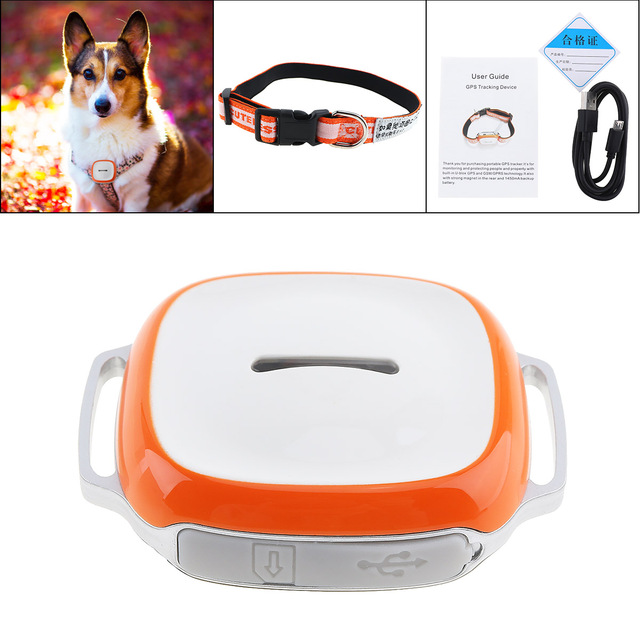 GT011 Waterproof Mini GPS Tracker Locator with WIFI GSM GPRS Tracker for Pets Cats Dogs