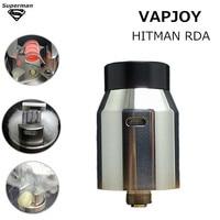 VAPJOY HITMAN RDA 22 Rebuildable Dripping Atomizer vaporizer electronic cigarette vapor tank vape absolutely no ejuice leaking