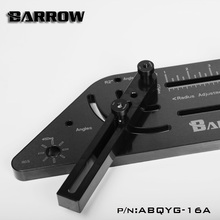 Barrow multi-angle Acrylic / PMMA /PETG Rigid hard tube bending mould computer water cooling. ABQYG-16A