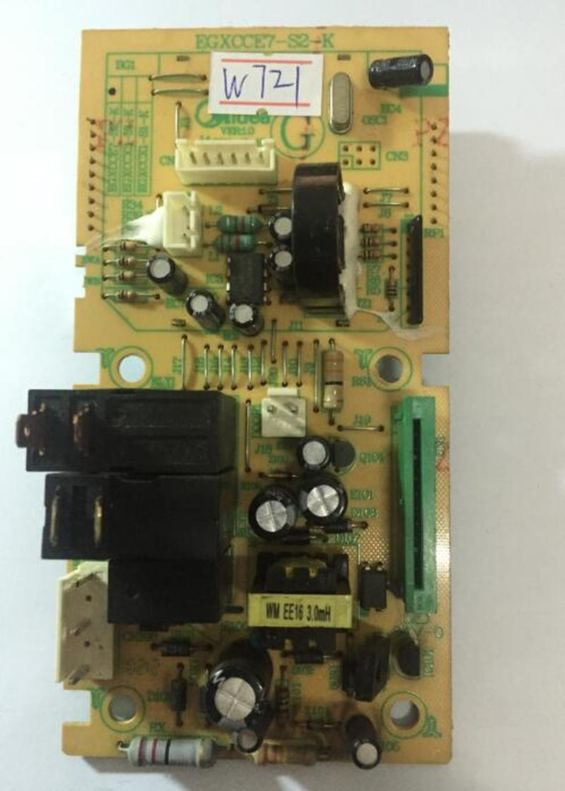 все цены на original Midea microwave computer board EGXCCE7-S2-K S1 EG823MF7-NRH3 EGXCCX1-S1-k microwave oven parts онлайн