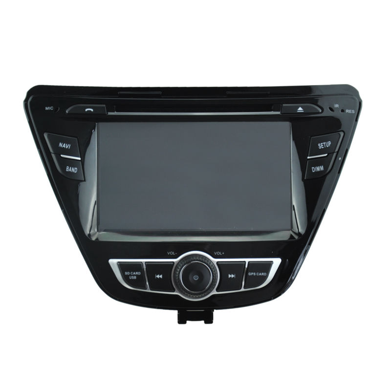 For 7 Quad core android 5 1 Hyundai Elantra 2012 Car DVD player GPS Tape Radio