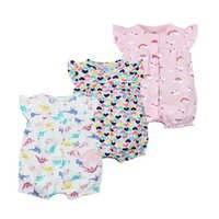 2020 marca oramgemom algodão curto macacão infantil roupas da menina roupas menina roupas da menina do bebê nowbron macacões roupas de bebê