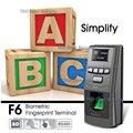 Sistema de Segurança da porta F6 Suporta SD Leitor de Cartão de Controle de Acesso Autônomo Da Impressão Digital RS485 FP Manangement Da Entrada Da Porta Wiegand