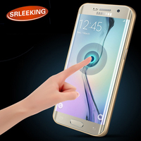 For Samsung S6 Edge HD Full Curved 3D Phone Tempered Glass Screen Protector Protective Film For