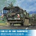 Бесплатная доставка Трубач модель 00203 1/35 Faun elefant SLT-56 танковая транспортер