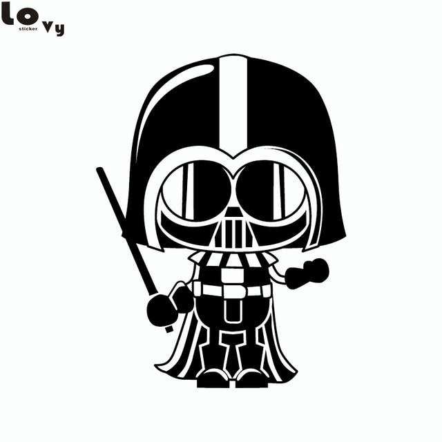 Clássico Filme Star Wars Darth Vader Dos Desenhos Animados