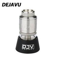 Original DEJAVU RDTA 2ml Capacity with Dual Coils Building & Leak Proof Design 25mm Diameter Fit Drag 2/ Luxe Mod / Shogun Mod