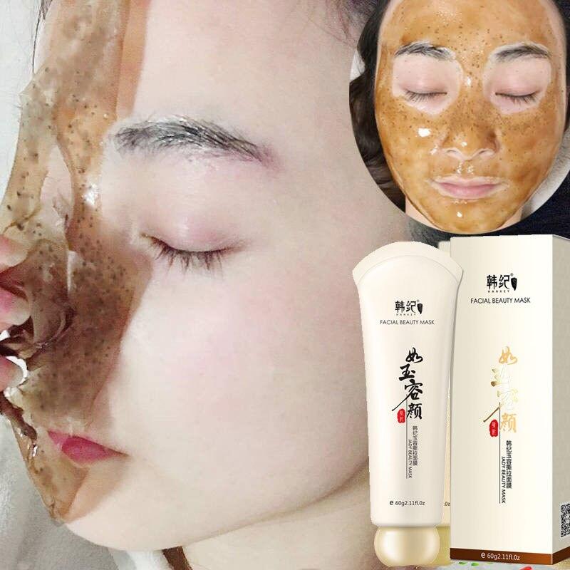 60G magia chino medicina toxina máscara negro cabeza quitar la piel cosméticos coreanos pelar máscara tony moly de las mujeres de los hombres conjunto|Tratamientos y mascarillas| - AliExpress