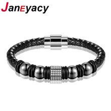 Новинка 2018 модные ювелирные изделия janeyacy кожаный браслет