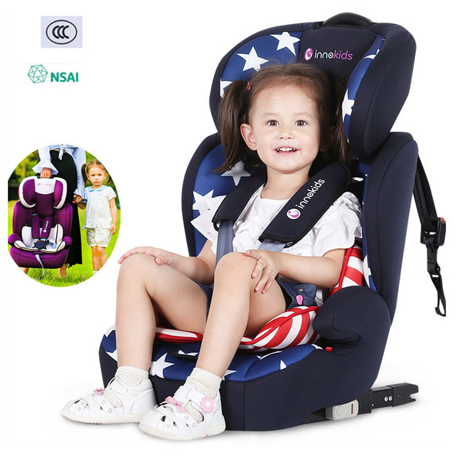 Child Car Safety Seat Portable Travel Baby Car Seat Chair ISOFIX Hard Interface Adjustable Lying Baby Safe Seat Booster Cushion