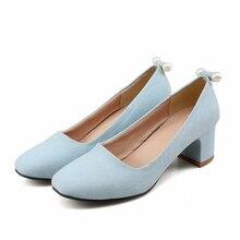 ปั๊มMatteใหม่รองเท้าผู้หญิงหลาขนาดเล็ก31 32 33ขนาดใหญ่ขนาด44 43 42 41 40ส้นสูง5.5เซนติเมตรEURขนาด30-45