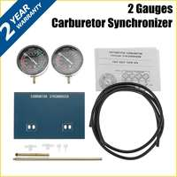 2 Gauges Vacuum Gauge Carburetors Synchronizer Tuner Tools Set For Motorcycle Carbs Sync Gauge for Yamaha Any Other Motorcycle