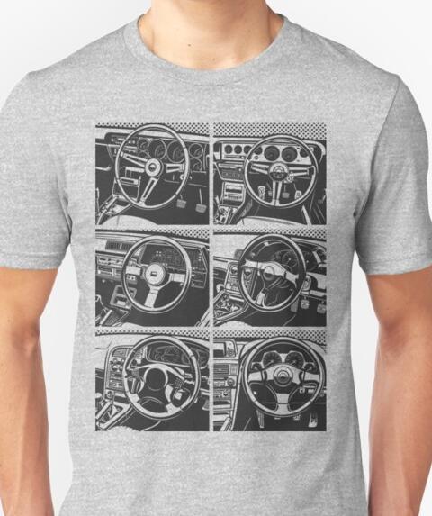 2019 New Arrival Men 39 S Fashion Skyline GTR Interior Evolution SKYLINE R32 R33 R34 R35 Motor Engine Turbo T SHIRT in T Shirts from Men 39 s Clothing