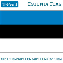 90*150cm/60*90cm/40*60cm/15*21cm Polyester Estonia Flag For World Cup National Day Olympic Games Event Office Home decoration