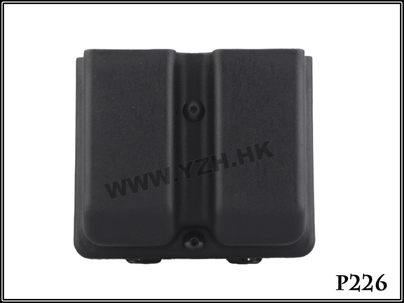 Army Military Equipment Airsoft Paintball Pouch Combat Blade-tech Style Double Magazine Pouch FOR:P226 cartridge
