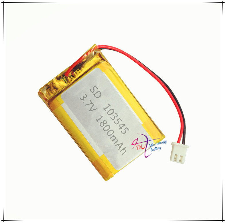 XHR-2P 2.54 1800mAh 503446*2 3.7V core polymer battery 503545*2 cordless telephone machine learning