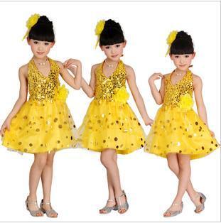 Kindertag Kinder Tanzkleidung moderne Mädchen Performance-Kleidung - Bühnen- und Tanzbekleidung - Foto 2