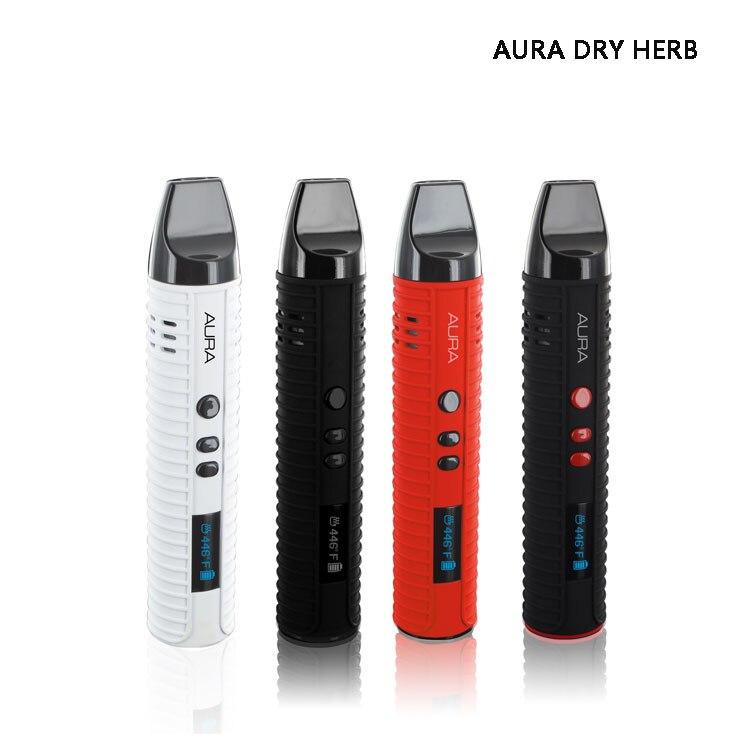 Flowermate AURA Dry Herb kit Vaporizer 2600mah Ceramic coils Wax herbal Eliquid 3 in 1 e cigarettes Vapor Pen kits
