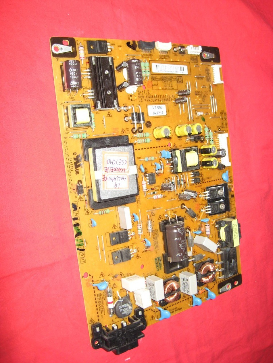 ФОТО EAX64427101(1.4) Power Board For LG42LS4100-CE Good Working Tested