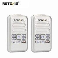 מכשיר הקשר זוג Retevis RT20 מיני מכשיר הקשר רדיו 2W UHF משדר VOX רדיו FM USB מסוג C, Charge 2 Way רדיו ללכת לדבר Comunicador (1)