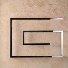 Дизайнерский полотенцесушитель, 4 квадратных бара, Электрический Полотенцесушитель 600*800 мм