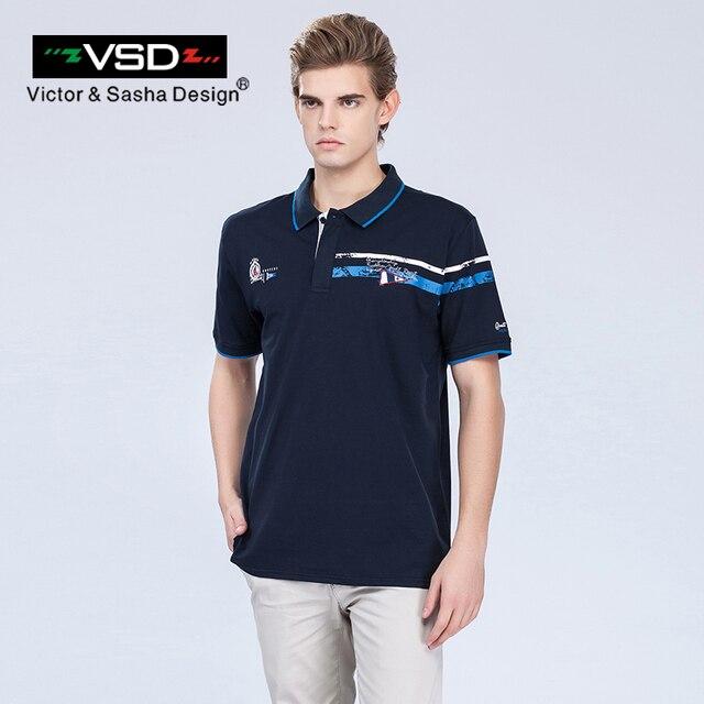 VSD 2017 Лето Большой Размер Хлопок Ralphmen Coccodril Camisa Поло Рубашки Мужчины С Коротким Рукавом Дышащий Известный Бренд мужская Homme Y680