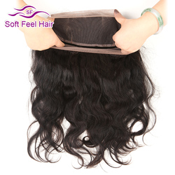 Soft feel hair brazilian body wave pre plucked 360 lace frontal closure with baby hair non.jpg 250x250