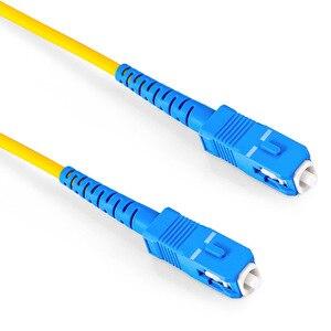 Image 3 - SC UPC Patchcord Simplex 2.0mm PVC Đơn Mode Miếng Dán Cáp SC Dây Quang có Dây Nhảy SM SX SC Sợi Patchcord