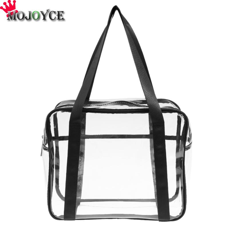 PVC Transparent Cosmetic Bags Women's travel Waterproof Clear Wash Organizer Pouch Beauty Makeup Case Accessories Supplies Bag цена