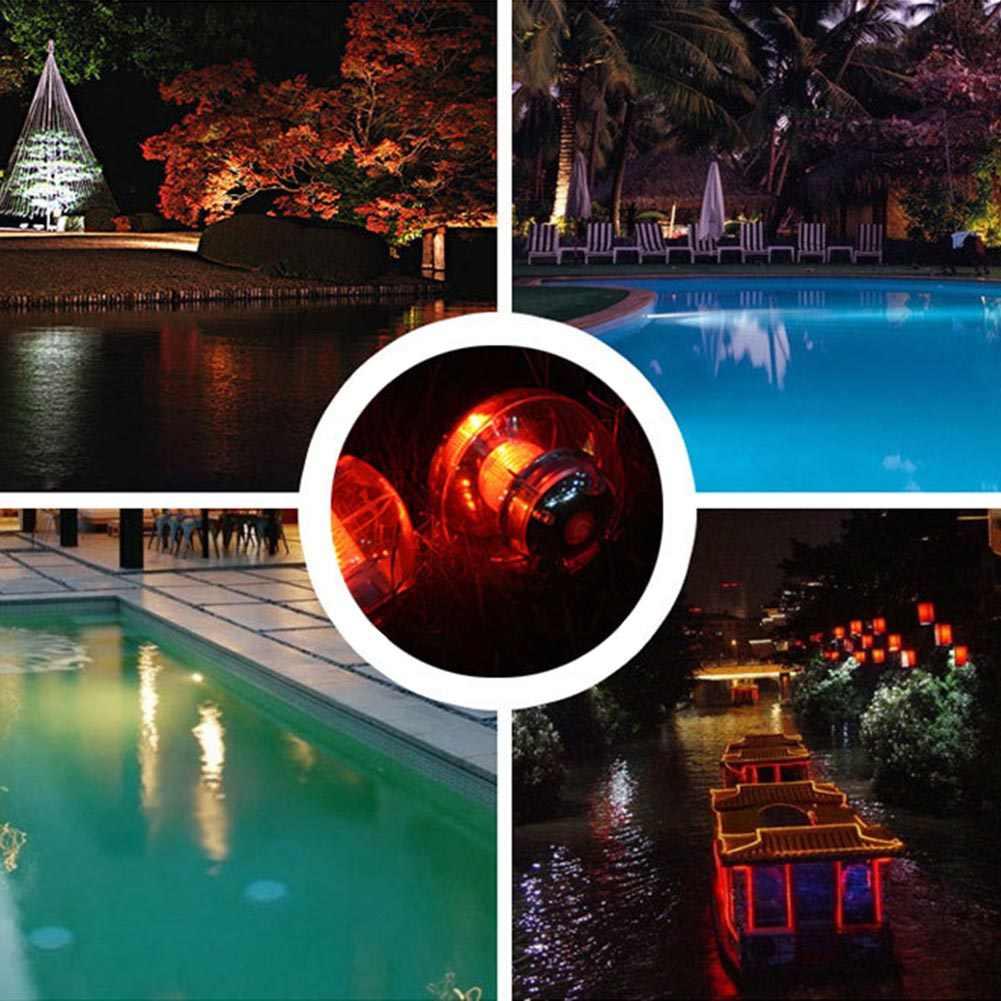 Светодиодный светильник на солнечных батареях, меняющий цвет, плавающий уличный дворовый садовый бассейн JT-Прямая поставка