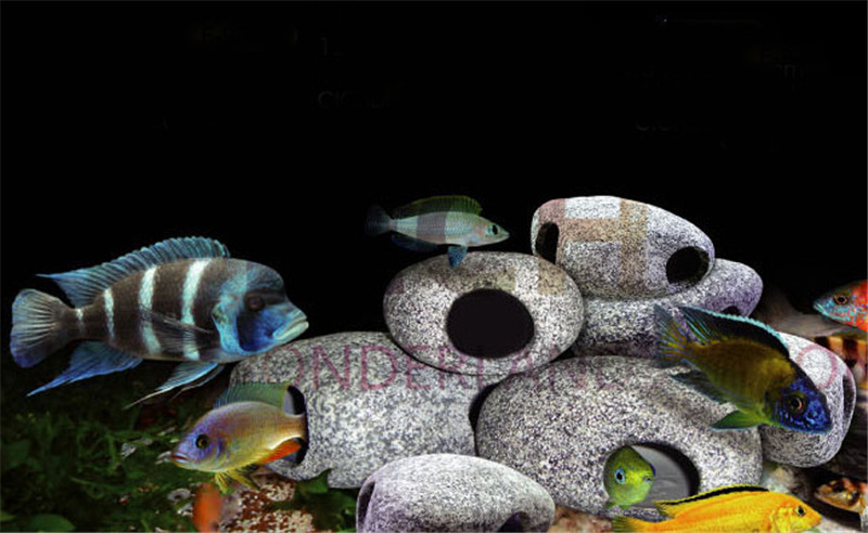 Aquarium rocks and caves the best cave for Fish tank caves