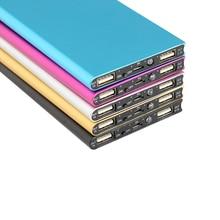 Super Slim 20000mAh Power Bank Portable Ultra-thin Polymer P