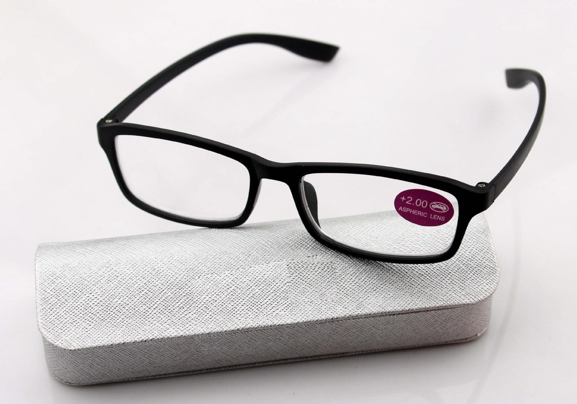 Ultra light superelastic TR90  reading glasses +1....