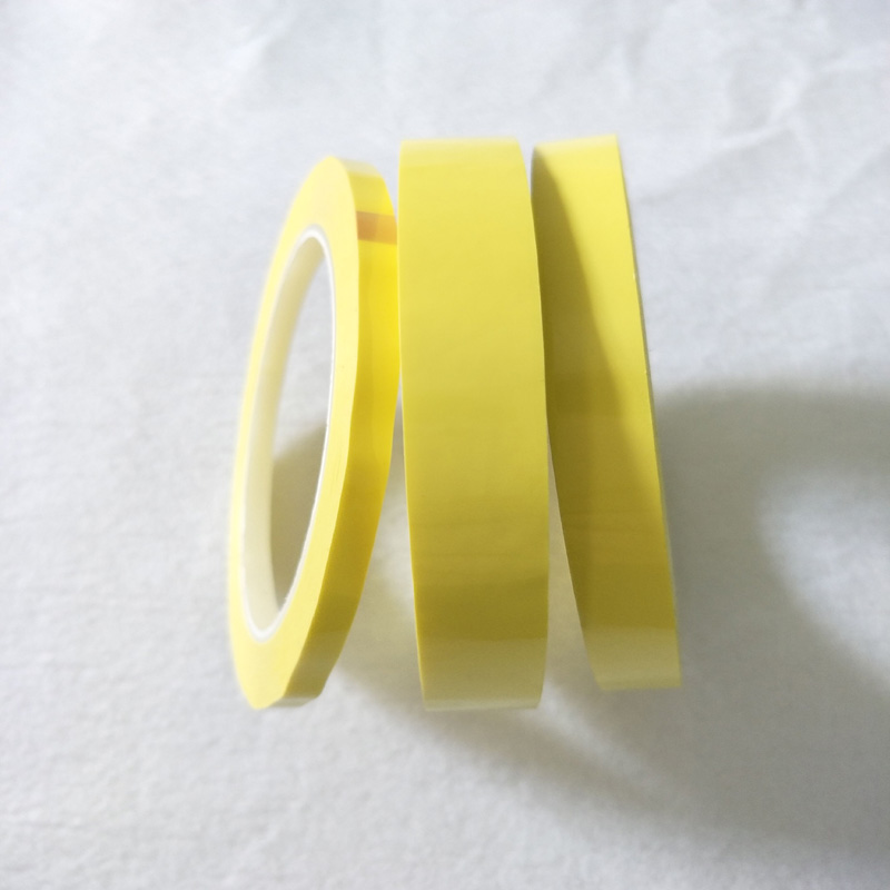 19mm~28mm Wide Choose 66M Long/roll Yellow Adhesive Insulation Mylar Tape for Transformer Motor Capacitor Coil Wrap Anti-Flame 2x 13mm width adhesive insulation mylar tape for transformer motor capacitor coil wrap anti flame black