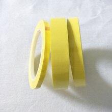19 мм ~ мм 28 мм широкий выбор 66 м длинный/рулон желтый клей изоляция майлар лента для Электродвигатель трансформатора конденсатор обмотка на катушке анти-пламя