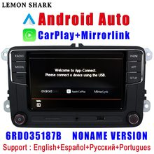 RCD330 Plus RCD330G Carplay Android Auto Noname 6RD 035 187B Radio samochodowe MIB dla VW Golf 5 6 Jetta MK5 MK6 CC Tiguan Passat Polo(China)