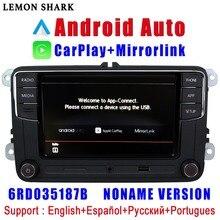RCD330 Plus RCD340G Carplay Android Tự Động Noname 6RD 035 187B Phát Thanh Xe Hơi MIB Cho VW Golf 5 6 Jetta MK5 MK6 CC Tiguan Passat Polo