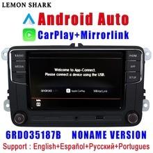 RCD330 artı RCD340G Carplay Android otomatik Noname 6RD 035 187B araba radyo MIB VW Golf 5 için 6 Jetta MK5 MK6 CC Tiguan Passat Polo