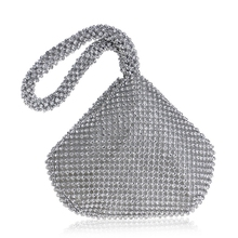 SEKUSA Soft Beaded Women Evening Bags Cover Open Style Lady Wedding Bridalmaid Handbags Purse Bag For New Year Gift Clutch
