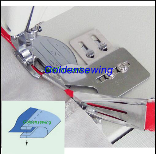 Double Fold Clean Finish Top & Bottom Binding Binder for JUKI DDL-8500 8700 5550